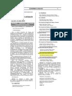 Res.Suprema Nª 017-2009-MINCETUR