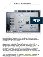 Switchboard Construction Siemتنens Basics