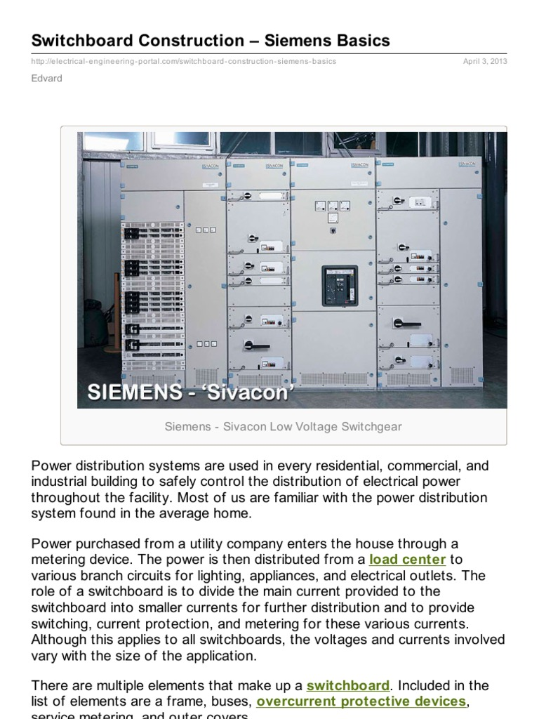 Exelent Switchboard Wiring Diagram Composition - Schematic diagram ...