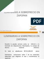 Luminarias a Sobreprecio en Zapopan