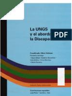 Libro Universidad Gral Sarmiento Sobre Discapacidad