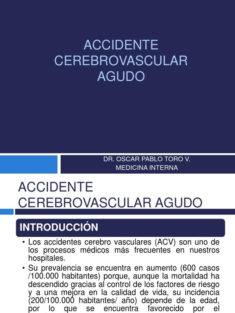Alternativas para prevenir accidentes cerebrovasculares