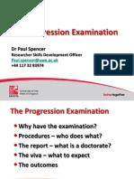 Progression Exam