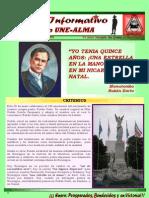 BOLETIN INFORMATIVO N°109 UNE-ALMA
