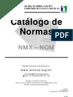 Catalogo de Normas Ingenieria Civil