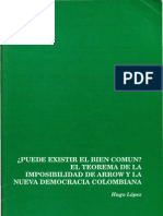 Lopez,Hugo-Bien Comun y Nueva Democracia Colombiana (1991)