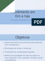 Atendimento de DM - organização