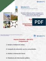 Presentacion Componente III. EBHICA. Abril 2013 (Avance)