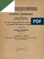 (Euseviu Popovici) Istoria bisericească universală și statistica universală (Vol III)