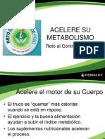 Metabolismo y Ejercicios