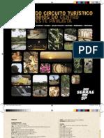Folder Circuito Turístico Caminhos do Centro-Oeste Paulista