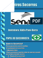 PALESTRA 1º SOCORROS