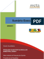 2009-07 Avaliação de programas e ações de governo regular I (Sumário Executivo)