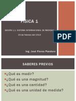 Sistema Internacional y Vectores