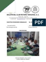 Boletín Rotario del 16 de abril de 2013
