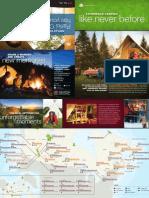 Parks Canada oTENTik brochure