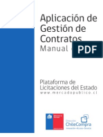 Manual Gesti n de Contratos CHILE COMPRAS