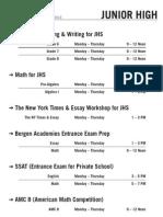 2013 Summer II Schedule Cresskill - JHS (Rev.0)