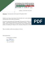 Assinatura Contracto