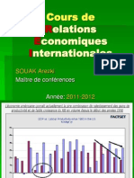 Cours de Relations Economiques Internationales1