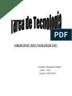 OBJETOS TECNOLÓGICOS