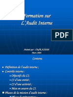 Audit Interne Mars 2006