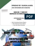 NOM 050y 051 DESPACHO DE MERCANCIAS.pptx