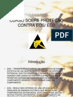 S.T - CURSO DE PROTEÇÃO ESD_OES