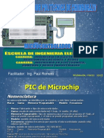 Microcontrolador Pic16f628 e Instrucciones Gama Media