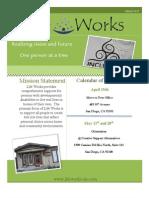 Life Works Newsletter April 2013