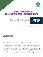Estatistica Descritiva e Probabilidade