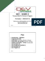 SGBD 2 Transact-SQL (P.S, Fonction & Triggers)