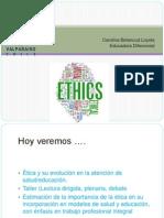 educació y salud etica
