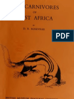 Carnivores of West Africa