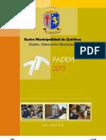 PADEM 2013 quirihue