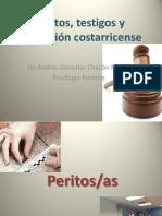 Clase 2 Peritos, testigos y legislaciòn costarricense