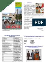 Boletín Informativo # 1 Club Social Huanta