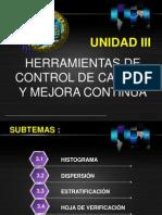UNIDAD III- ADMON DE LA CALIDAD- 7 HERRAMIENTAS.pptx