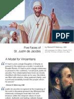 Five Faces of St. Justin de Jacobis