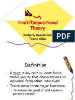 Trait Personality Theory