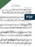 Vals Opus 34 No 2 de Federico Chopin