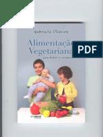 Livro Alimentação Vegetariana para Bebés e Crianças