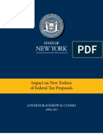 Impact of Federal Tax Proposals