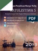 Pedoman Penulisan Karya Tulis KATULISTIWA 5