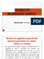regresión lineal simple DR. RODRIGO SALAZAR