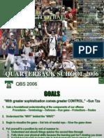 Trinity - 2006 QB School