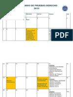 Calendario pruebas  2013.docx