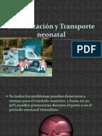 Estabilización y Transporte neonatal