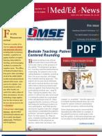 UA OMSE Med/Ed eNews  v1 No. 07 (APR 2013)