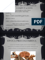 Época precolombina DIAPOSITIVAS TERMINADAS